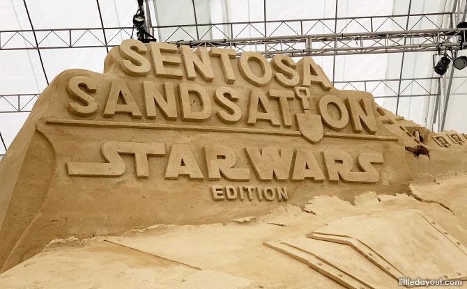 Sentosa Sandsation Star Wars Edition