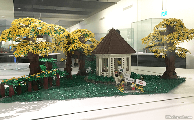 Singapore Botanic Gardens LEGO Model at Piece of Peace Exhibition