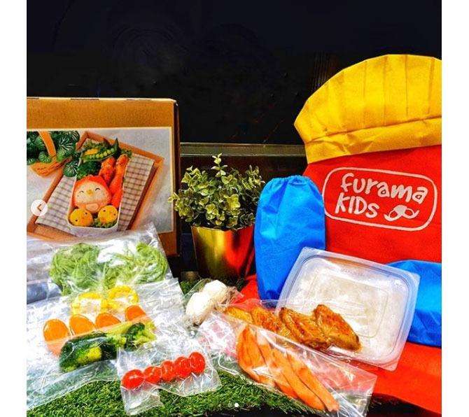 Furama RiverFront's DIY Kit for Little Miss Bento Workshop