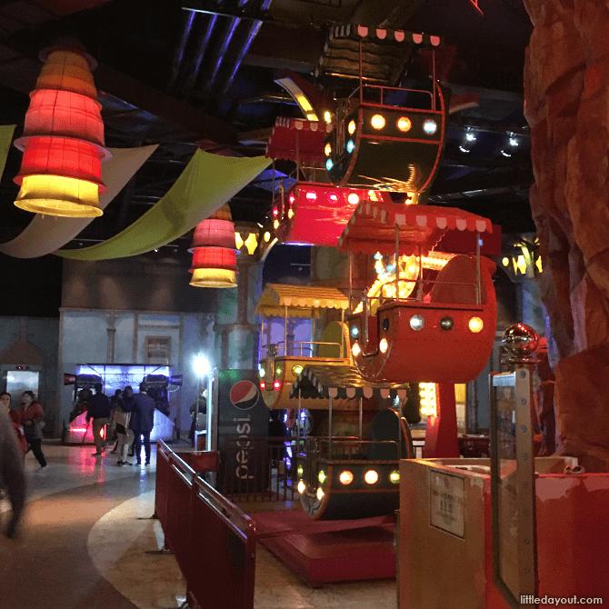 Mini Ferris Wheel, Sun World Ba Na Hills