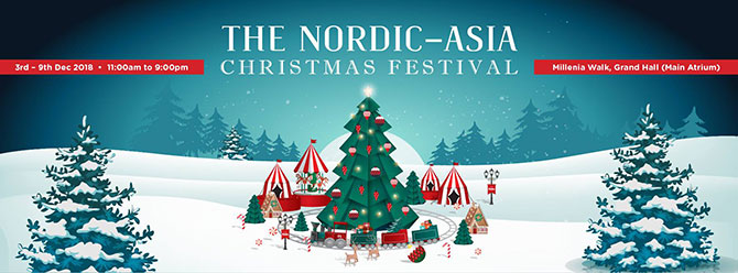 Nordic-Asia Christmas Festival 2018