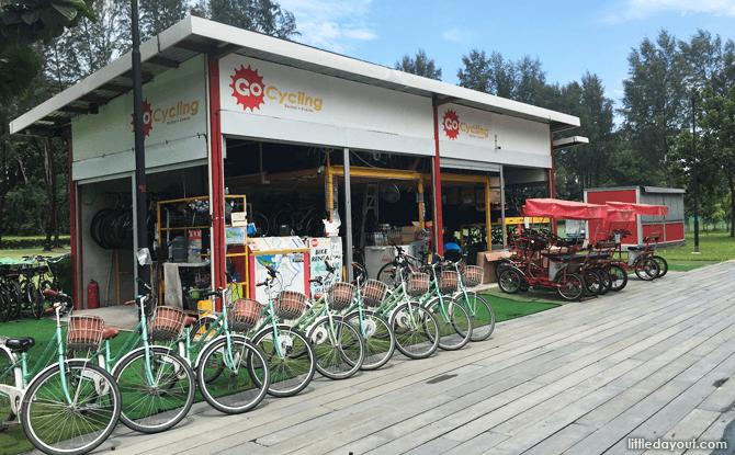 GoCycling @ Punggol Jetty