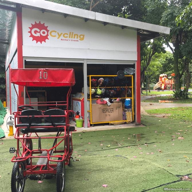 GoCycling @ Punggol Park