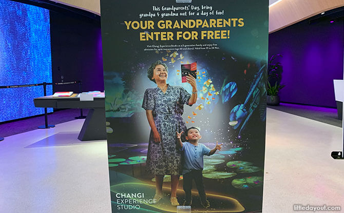 Grandparents Day Promotion at Changi Experience Studio