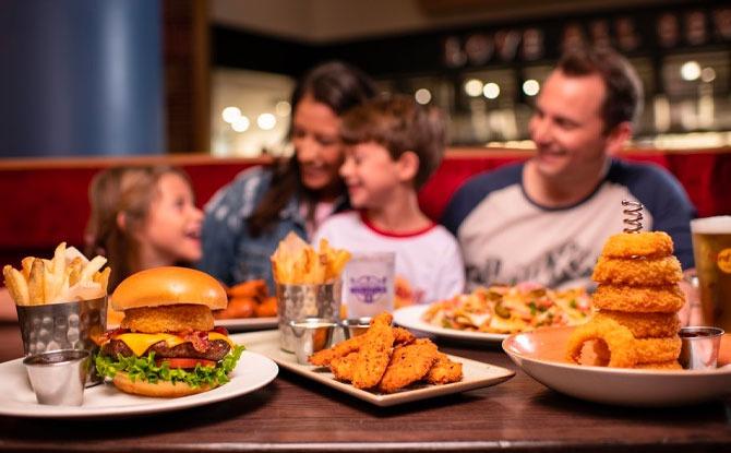 Hard Rock Café's Kids Eat Free Menu