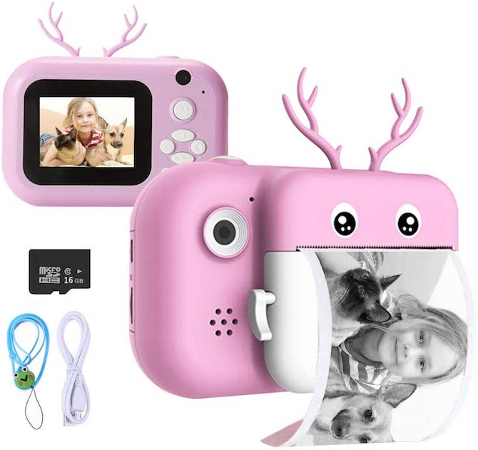 ieGeek Instant Print Camera for Kids