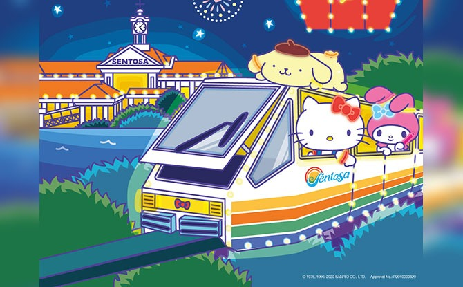 Sentosa Island Lights 2020: Sanrio Characters Will Be Lighting Up Siloso Beach From 12 Dec To 3 Jan