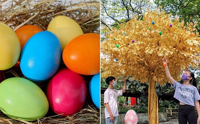 Jurong Bird Park Easter Egg Hunt 2021, Easter-themed Playground & A Maze