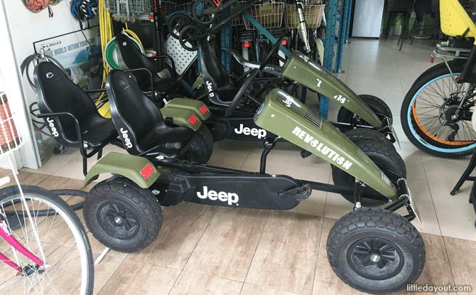 Pedal Go-karts at Jomando, Punggol