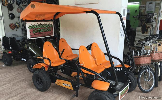 Pedal Go-kart at Jomando, Punggol Bike Rental