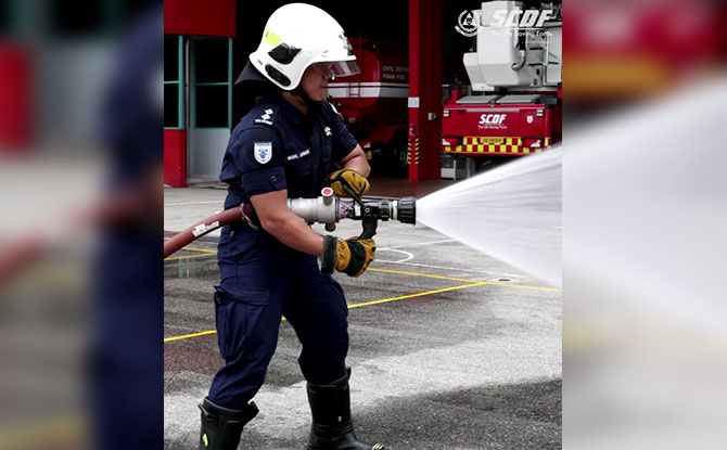 """Jurong Island Fire Station: Home Of The """"Big Boi"""" Used To Fight Massive Fires"""