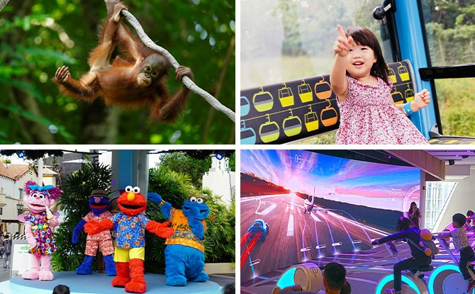 10+ Singapore Attractions Where Young Kids Enter Free