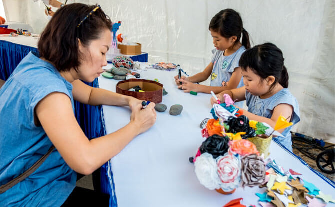 Family Activities at Car-Free Sunday in May 2018
