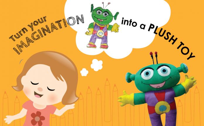 Turn Your Imagination into Customised Plush Toys