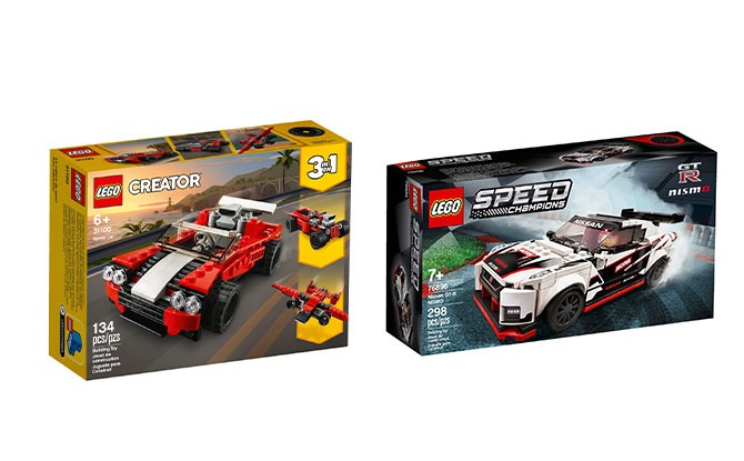 Nissan GT-R NISMO (76896) and LEGO® Creator 3in1 Sports Car (31100)