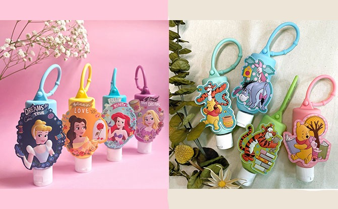 Relive Your Childhood With New Disney Princess & Winnie The Pooh Hand Sanitisers From Lifebuoy