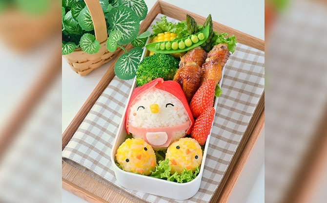 Join Little Miss Bento For An Instagram Live Workshop To Make A Mother's Day Bento