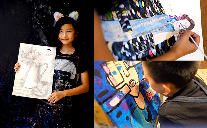 Creative Fine Art (8 to 12 year olds)