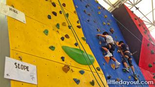 Rock Climbing For Kids: Superhero Training