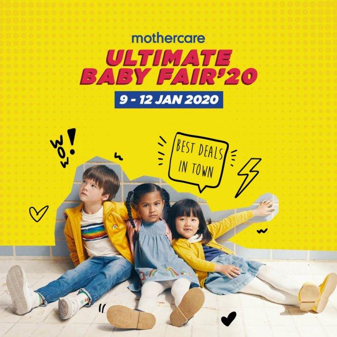 Mothercare Ultimate BabyFair '20