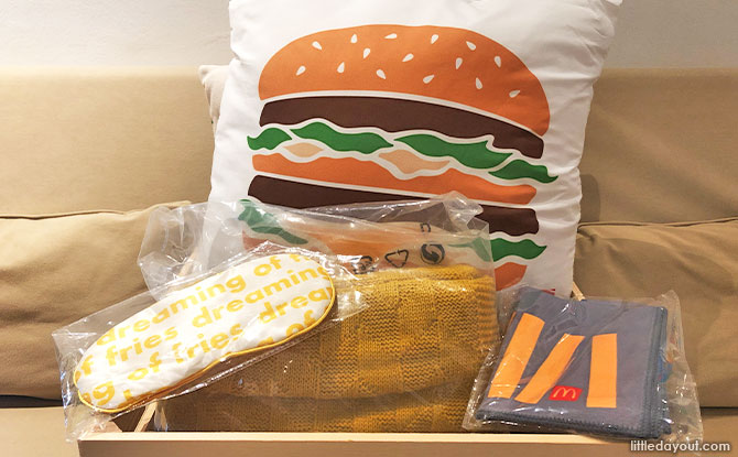 Win Exclusive McDonalds Merchandise For A Happy Stay In!