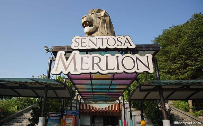 merlion-sentosa