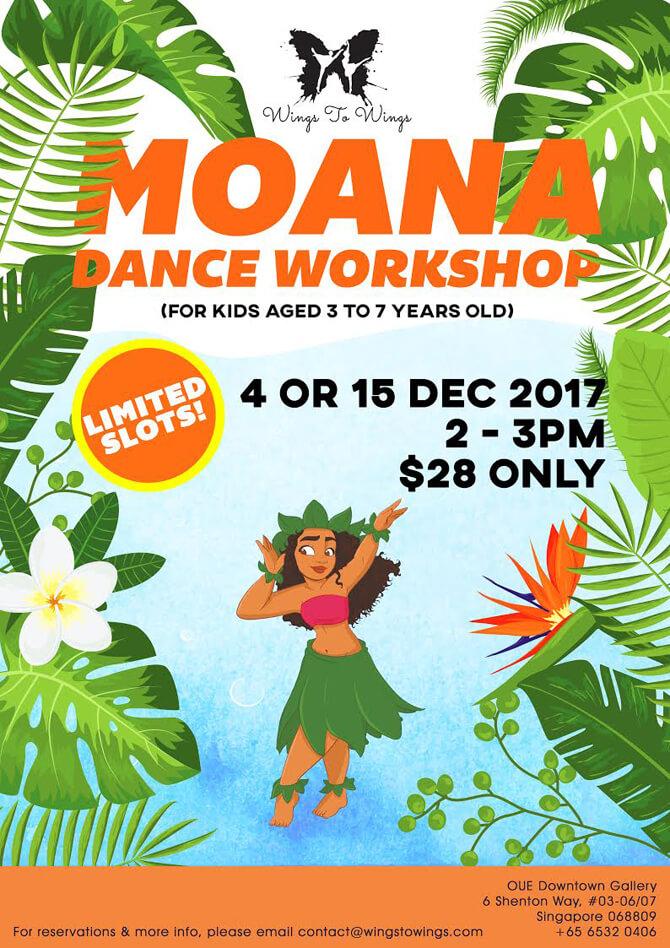 Wings to Wings Moana Dance Workshop