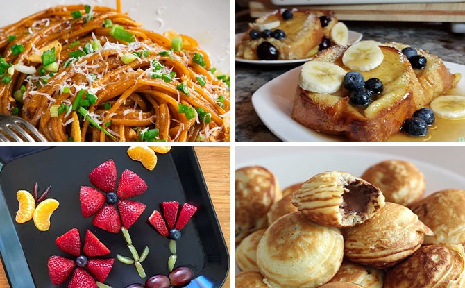 Mother's Day Breakfast Recipes Which Kids Can Make