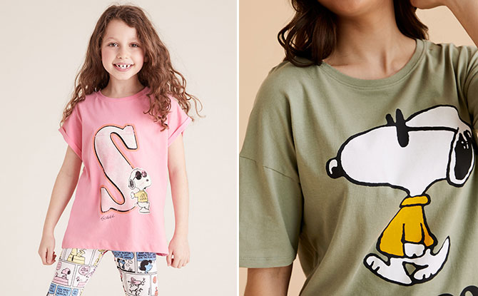 Marks & Spencer Has Snoopy Prints Which Will Give You A Dose Of Nostalgia
