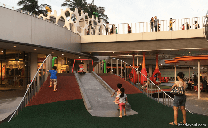 VivoCity Play Area Hill