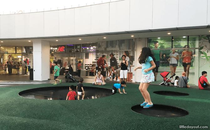 VivoCity Children's Playground Trampoline