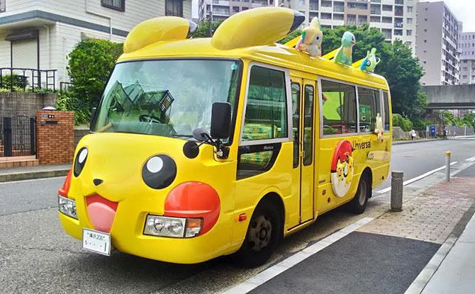 Pikachu Bus