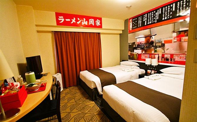 Ramen Hotel In Japan: Simmer In A Ramen-Themed Room