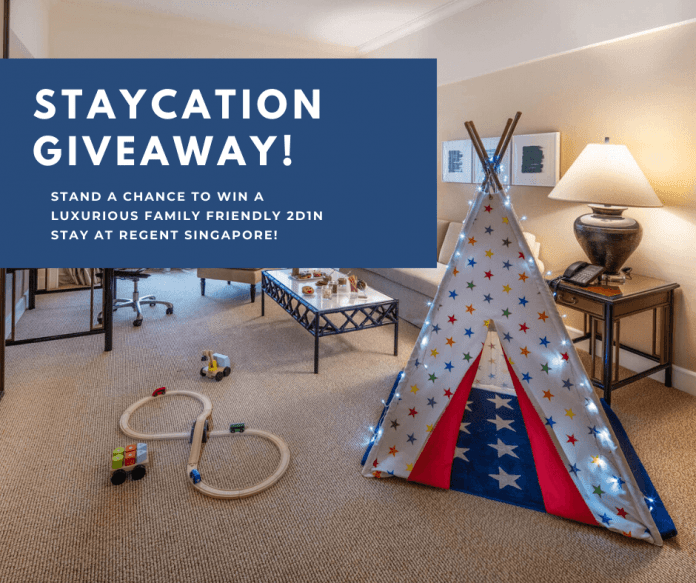 GIVEAWAY: Staycation At Regent Singapore