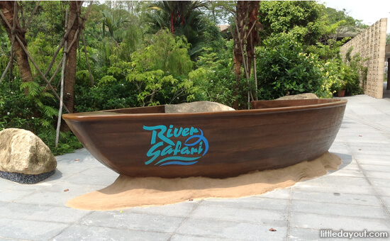 River Safari Boat