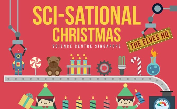 Sci-Sational Christmas: The Elves' HQ