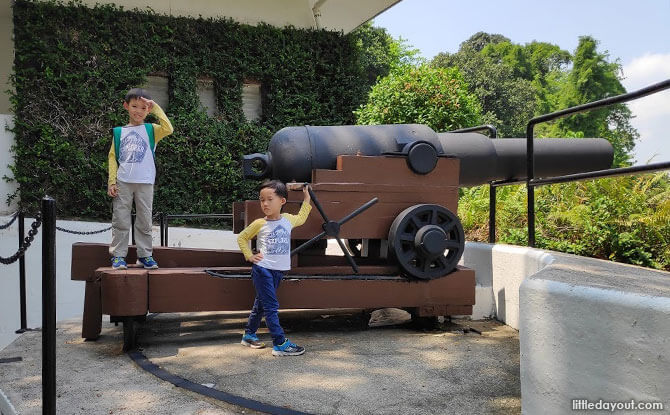 Battle of Singapore Tours at Sentosa