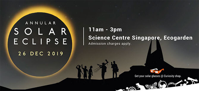 Science Centre Singapore is holding a Eclipse Viewing Event