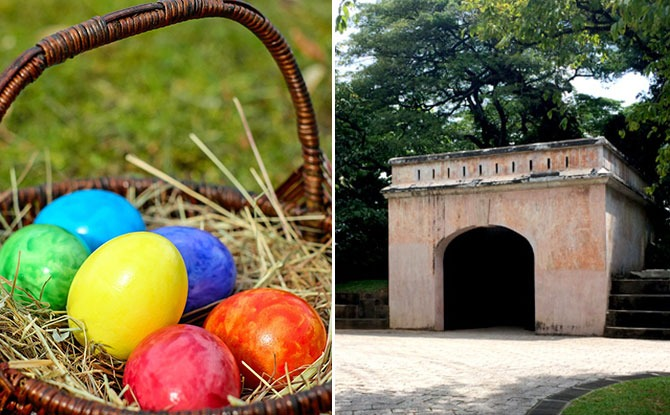 Singapore Philatelic Museum Is Holding An Easter Egg Hunt At Fort Canning Park