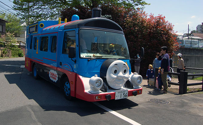 Thomas the Tank Engine - Cute Japanese School Bus
