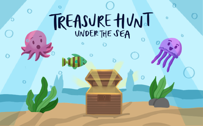 Treasure Hunt Under the Sea