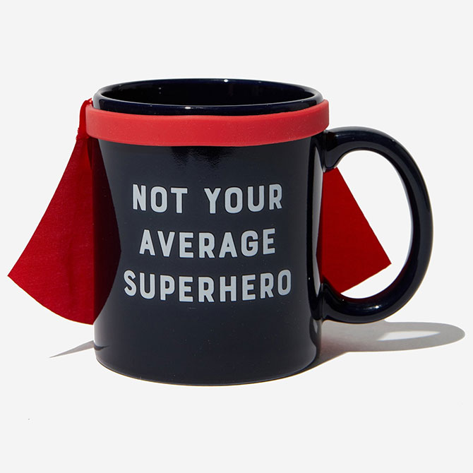 Not Your Average Superhero Mug