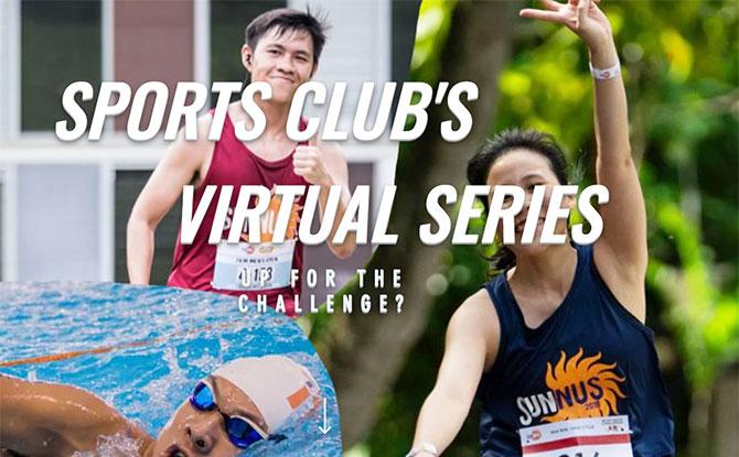 NUS Sports Club's Virtual Series