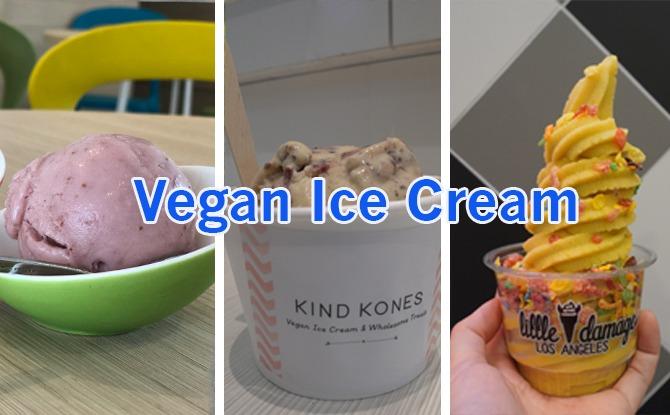 We Tried Three: Vegan Ice Creams