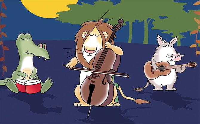 Yo-Yo Ma & Sandra Boynton Collaborate On Jungle Night, A Board Book Which Featuring Ma's Playing