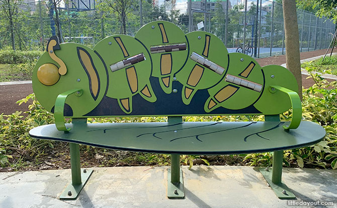Caterpillar Bench - Everspring Park